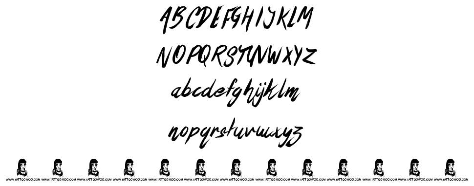 The Oyster Bar font