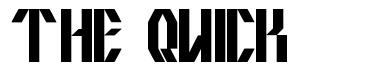 The Quick font