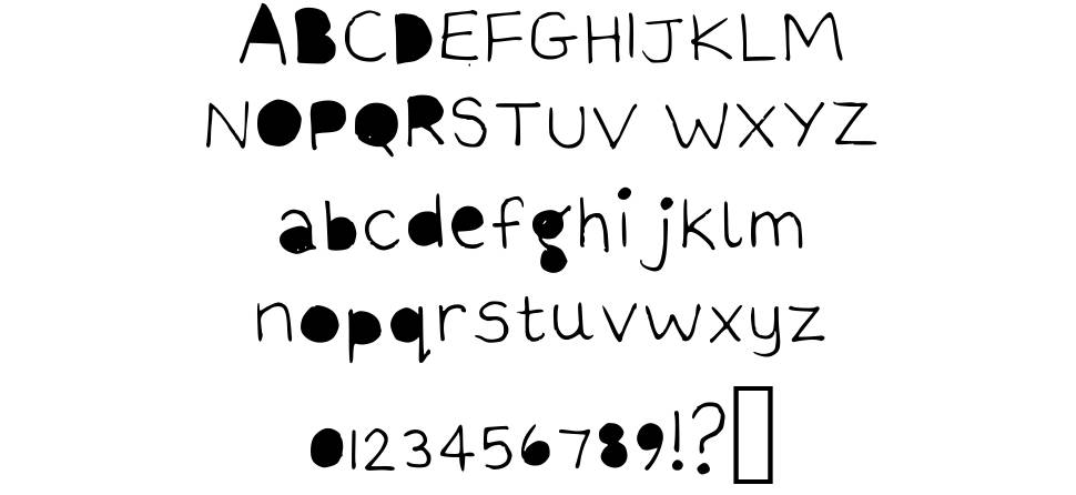 The quick brown fox font