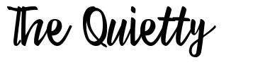 The Quietty font