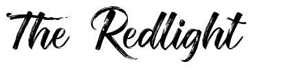 The Redlight font
