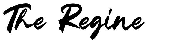 The Regine font