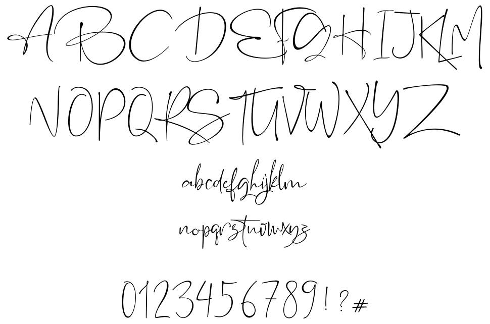 The Rochester font
