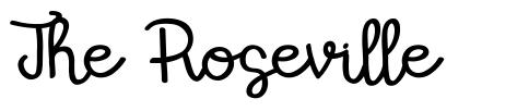 The Roseville font