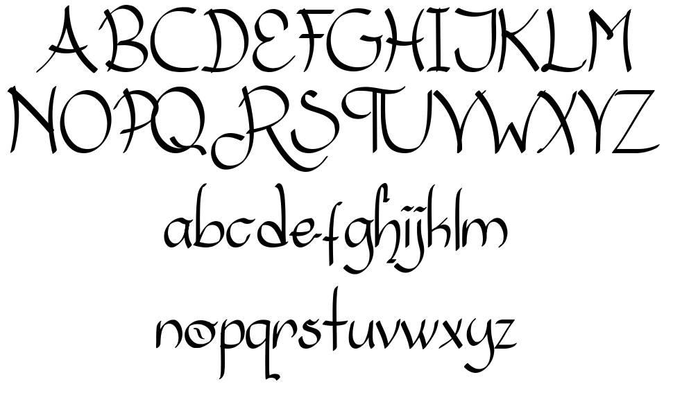 The Royale font