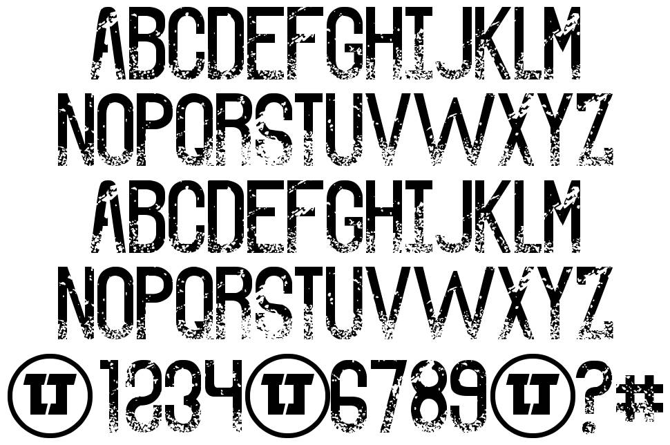 The Sound of Truth font