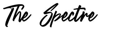 The Spectre czcionkę