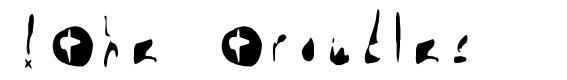 !The Troubles font