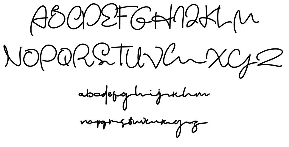 The Wonder font