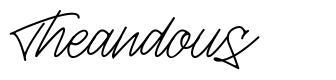 Theandous