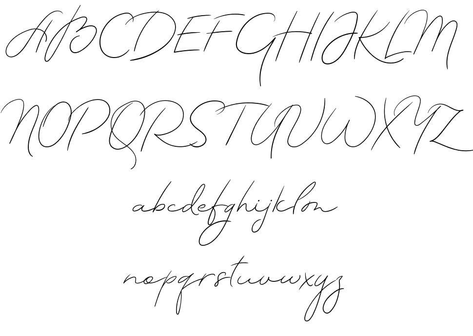 TheArtist Script font