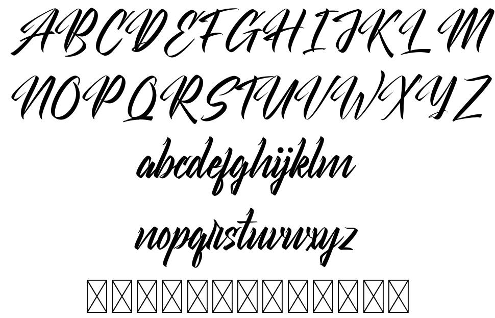 Theirself font