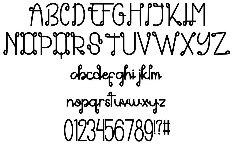 Themarie font