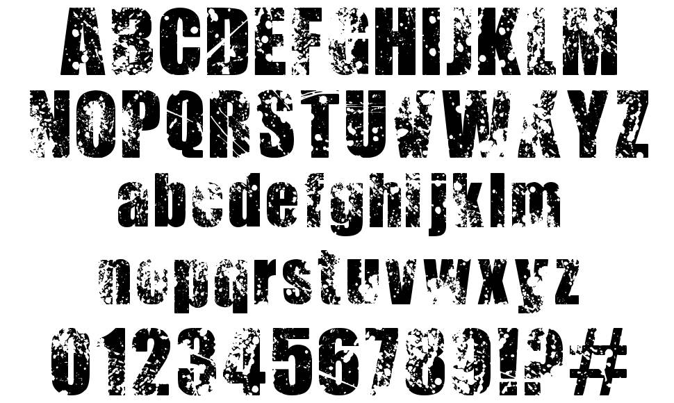 Thirsty for Souls font