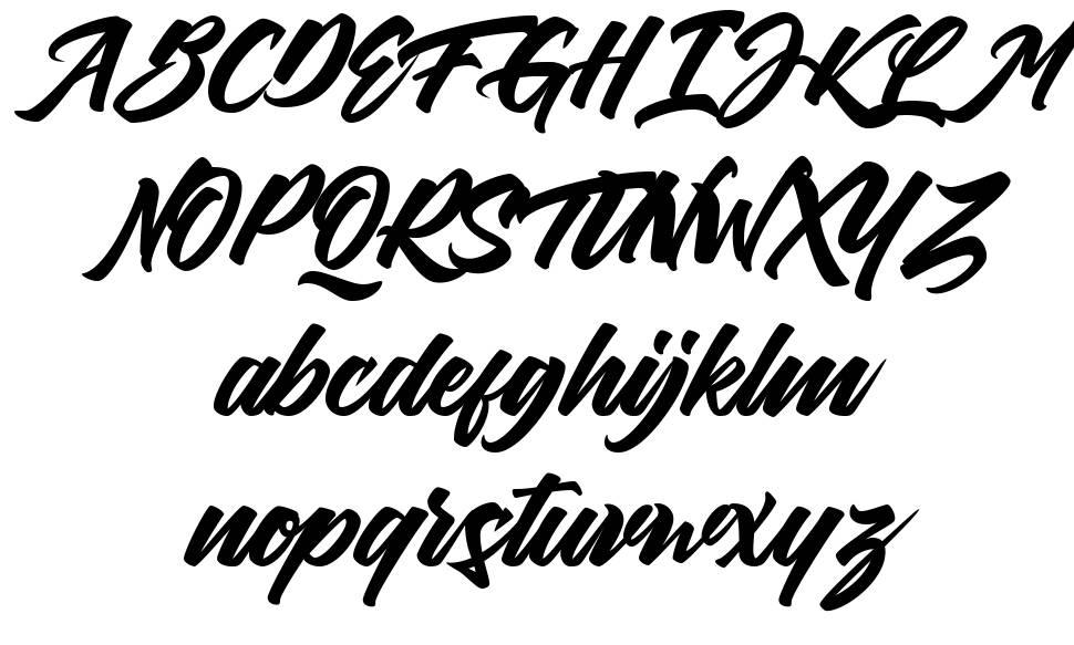 Thirthy font