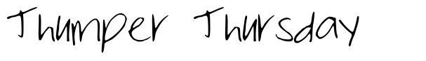 Thumper Thursday