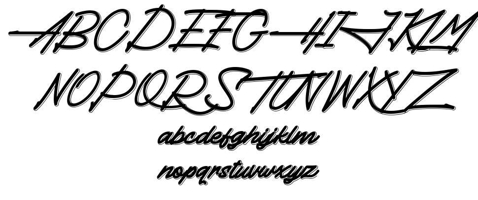 Thundergood font
