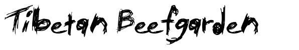 Tibetan Beefgarden font