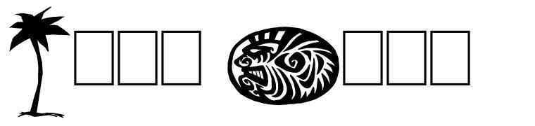 Tiki Club font