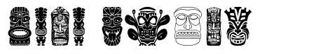 Tiki Idols font