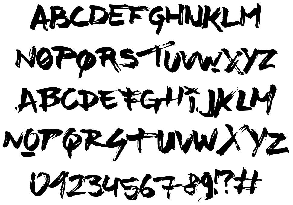 Time Machino font
