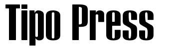Tipo Press font