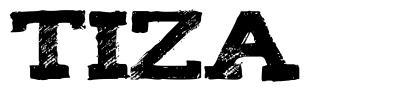 Tiza 字形