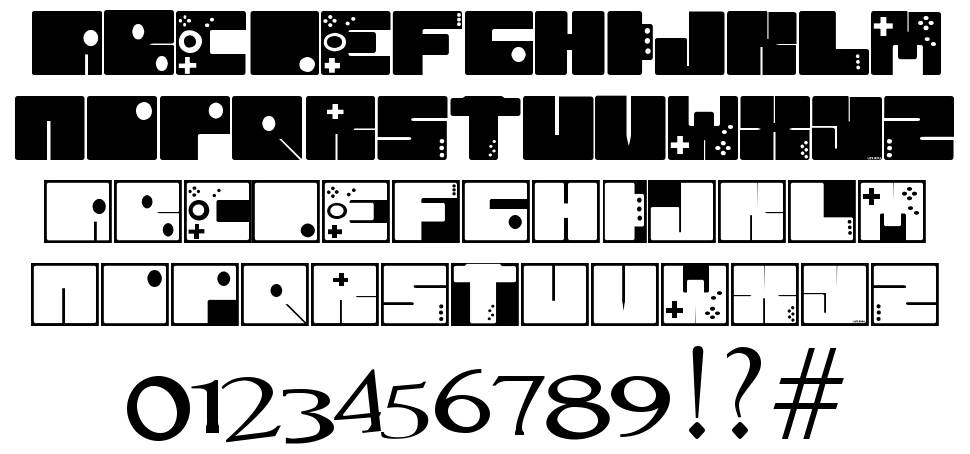 To 64 font