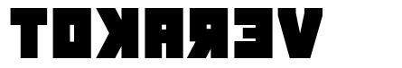 Tokarev шрифт