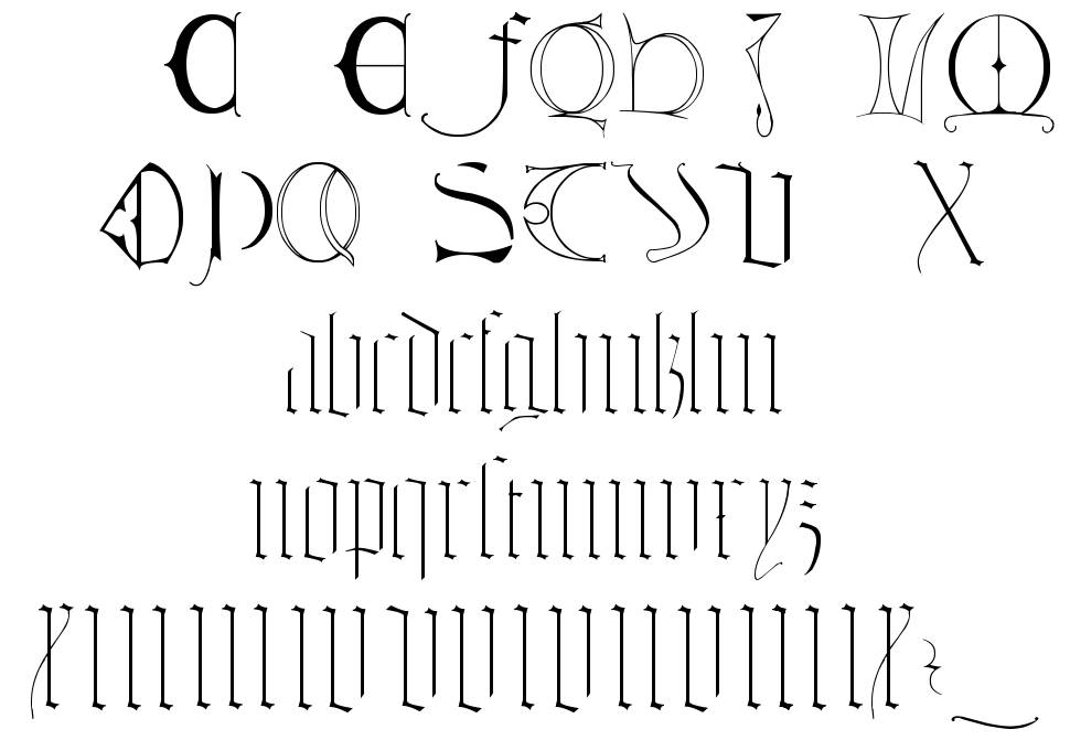 Tombale font