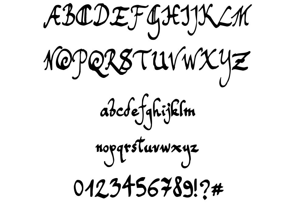 Free handwritten fonts