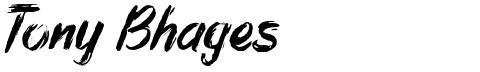 Tony Bhages
