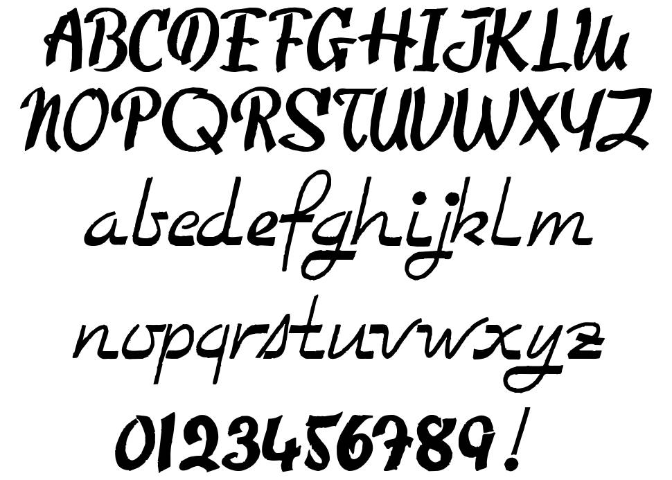 Too Good To Be True font