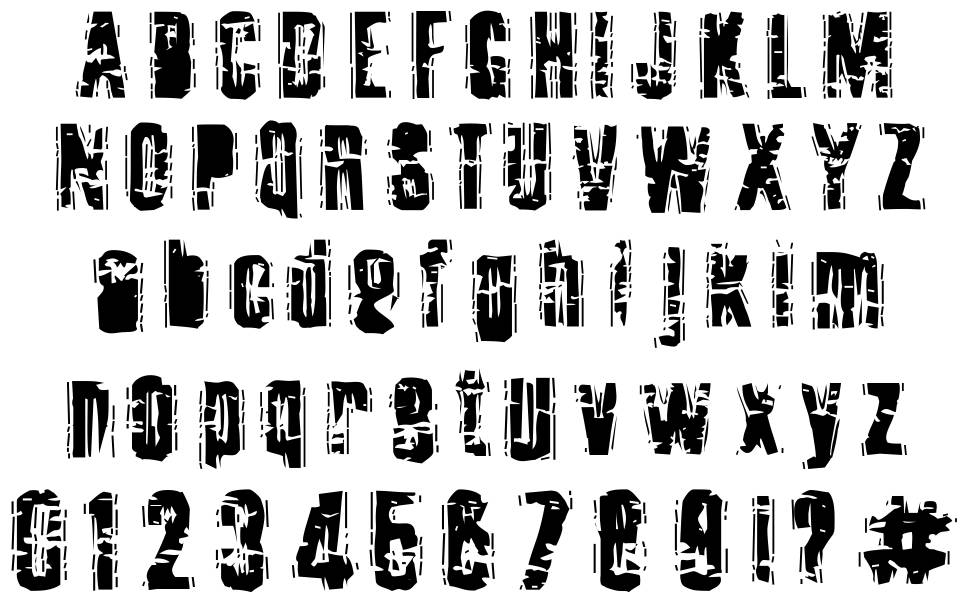 Tooth Ache font