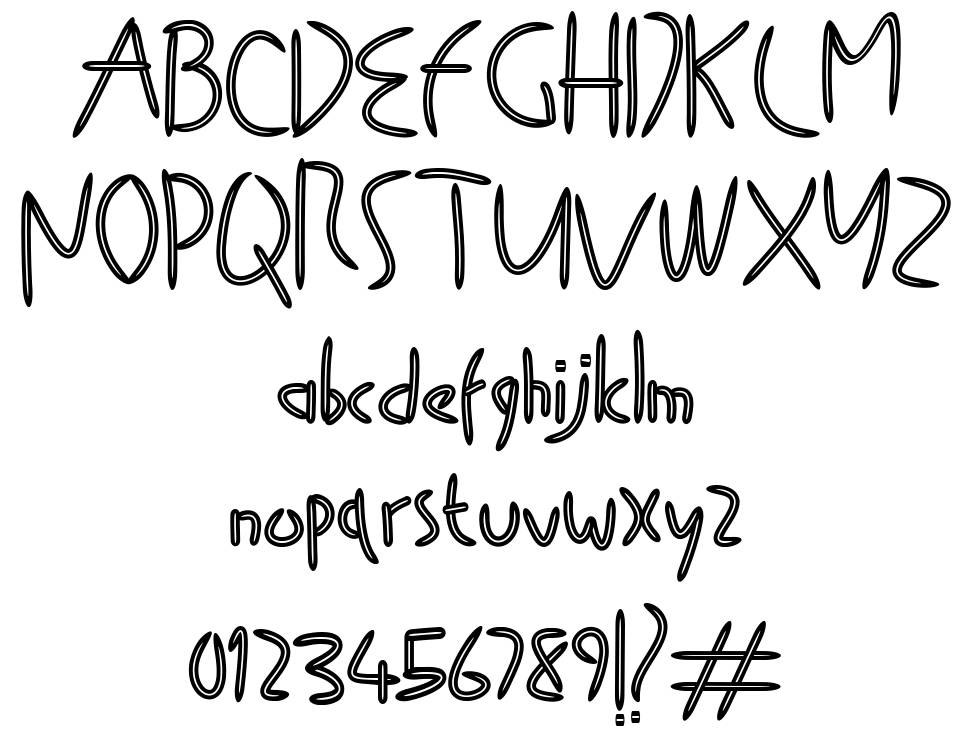 Tooth Picks font