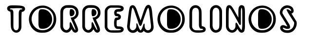 Torremolinos font