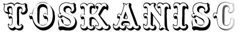 Toskanische Egyptienne Initialen