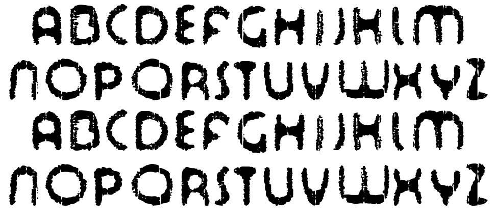 Tour de Font 字形