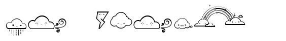 Toy Cloud font