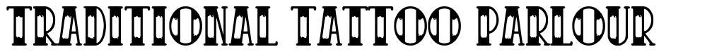 Traditional Tattoo Parlour font