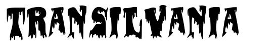 Transilvania font