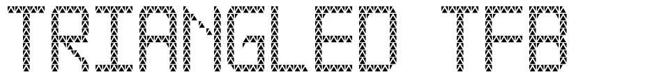 Triangled TFB 字形