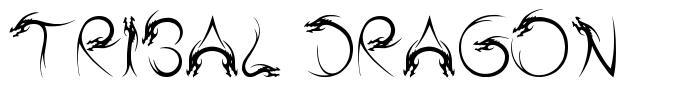 Tribal Dragon font