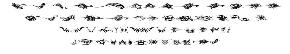 Tribalz font