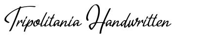 Tripolitania Handwritten font