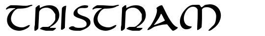 Tristram font