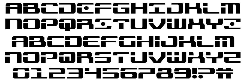 Troopers font