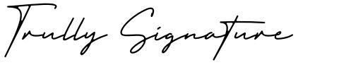 Trully Signature