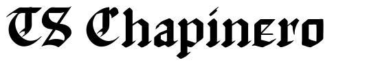 TS Chapinero font