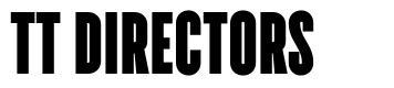 TT Directors font